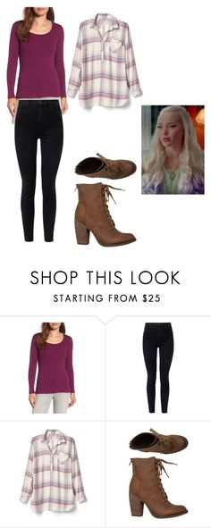 """Cute"" by beckybedford ❤ liked on Polyvore featuring Caslon, J Brand, Gap and Rebels"