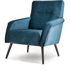 Duke fauteuil blauw - Eleonora