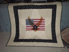 I made this quilt for my Air Force retired Daddy! I also made one for my AF hubby! Thank you so much for your service!!!