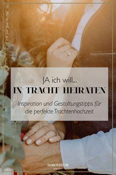 Wer im Hochzeitsdirndl heiraten möchte, findet in unserem neuen Blogbeitrag alles rund um das Thema Trachtenhochzeit! Blog, Newlyweds, Getting Married, Round Round, Blogging