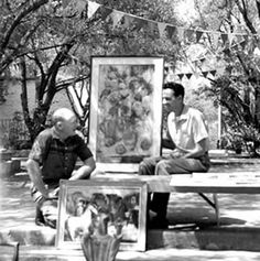 From the 1959 art fiesta. It was a major part of our lives.