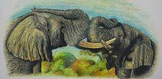 Elefantes africanos - Juan David Cano Valencia