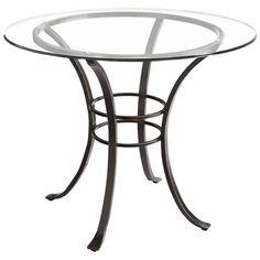 Add any of our round glass tops (sold separately), and our Arden table… Glass Kitchen Tables, Glass Top Dining Table, Patio Table, Round Dining Table, Dining Room Table, Dining Sets, Dining Decor, Compact Table And Chairs, Metal Chairs
