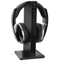 """The Best Television Headphones - These wireless headphones earned The Best rating from the Hammacher Schlemmer Institute because they provided clearest audio and greatest transmission range of any model tested. One panelist called them """"the most comfortable headphones I've ever worn."""""""