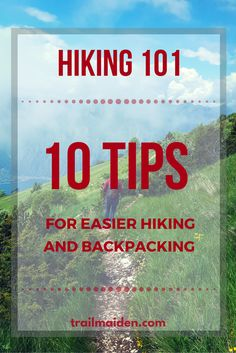 Ultimate list of 10 best hiking tips to help you make your adventures easier and as enjoyable as possible! Some really useful tips in there.