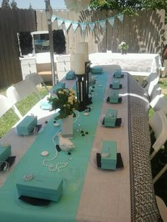 Tiffany party for charlotte