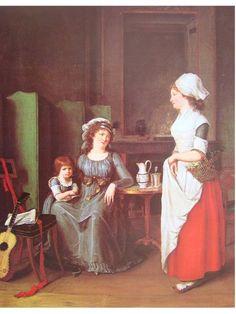 Le compte-rendu sur l'anse du panier – Constance Charpentier - 1796