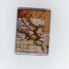 Map it out! by Kelly King on Etsy