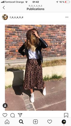 Tipps und Outfit Ideen mit Leopardenmuster - Tipps und Outfit Ideen mit Leopardenmuster Source by - Mode Outfits, Casual Outfits, Fashion Outfits, Womens Fashion, Fashionable Outfits, Hijab Fashion, Korean Fashion, Fashion Tips, Printed Skirt Outfit