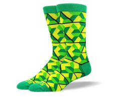 Best Socks GuaranteeIf this is not the best pair of socks you ever tried, email our team for a full refund and keep the pair on us. Size: Mens 7-13Length: Mid-CalfStyle: CrewMaterial: 80% Combed Cotton, 15% Polyester and 5% SpandexMade in: South Korea USA & Canada Shipping: Free on orders over $50, otherwise just $5 within the United States and Canada. International Shipping: Just $5 on orders over $50, otherwise just $10. Returns & Exchanges: Our customer happiness team is an email away for…