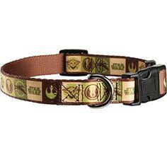 STAR WARS Yoda Adjustable Dog #Collar For Necks