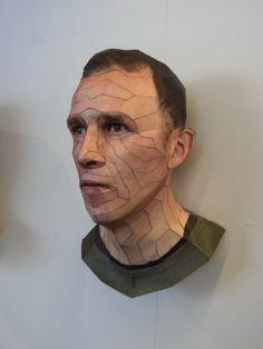 thomas demand paper and cardboard sculptures thomas demand pinterest skulptur. Black Bedroom Furniture Sets. Home Design Ideas
