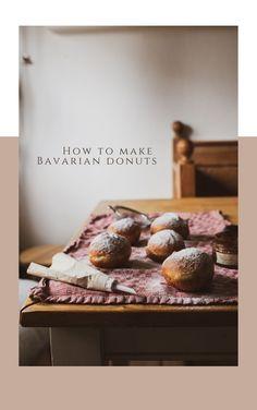 Bavarian Donut, Baked Donuts, Old Recipes, Carnival, February, Baking, Eat, Breakfast, How To Make
