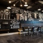 Taps & Caps - Denton, TX - Featuring a walk-up order window, they have 50 taps, sell packaged beer & offer growler-filling #craftbeer #beer #denton #dentontx #dentoning #dentoncraftbeer