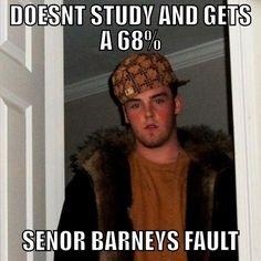 Justin Barney, Spanish Teacher, Issues Grades Internet Meme-Style