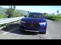 Test Drive Maserati Levante: on road & offroad