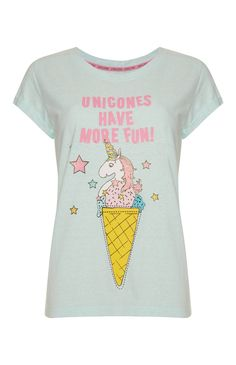 Unicons Have More Fun PJ Top