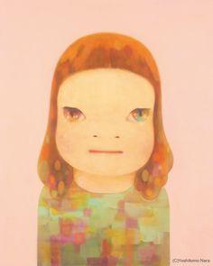 "NARA Yoshitomo, ""Miss Spring"". 2012. Yokohama Museum of Art."