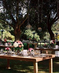 Les lustres s'invitent dans votre jardin | BricoBistro