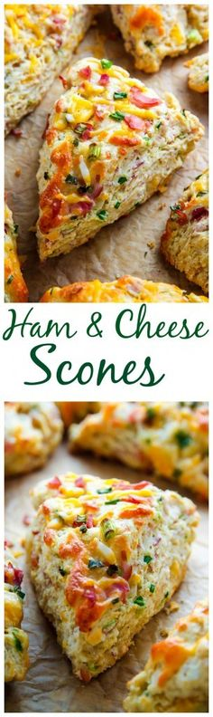 Finally - a bit of savory to offset the sweetness of Easter holidays! Whether breakfast, lunch, or dinner, these Ham and Cheese Scones are simple to make and absolutely delicious. Click here to learn how to make them!
