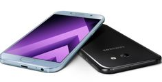 Nueva línea de Smartphone de Gama Media Samsung es presentada al público.   Samsung una de las comp...