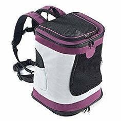 ettom Soft Sided Cat Dog Carrier Should Bag Backpack for Pets Outdoor Travel Up to 22lbs
