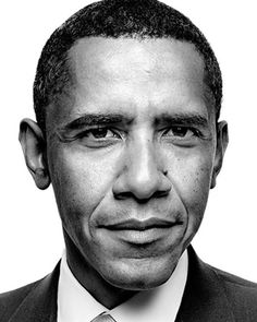 The President of the United States, Barack H. Obama. Extremely handsome.