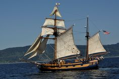 Tall ship Hawaiian Chieftain. #sailing #travel #adventure http://historicalseaport.org/