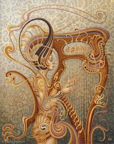 """""""Eola"""" ~ INDRIKoff.deviantart.com on @deviantART ~ Miks' Pics """"Boris Indrikov"""" board @ http://www.pinterest.com/msmgish/boris-indrikov/"""