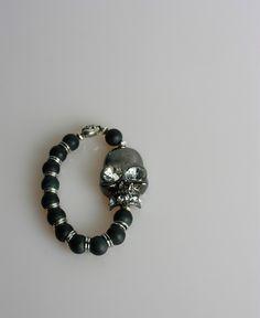 Gunmetal Skull, Matte Onyx