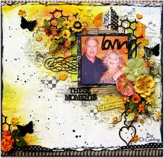 """Guest Designing with the Girls from2Crafty Chipboard""""At Scrap Around the World"""""""