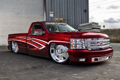 Trucks and SUVs: 2007 Chevrolet Silverado - Rides Magazine Custom Chevy Trucks, Chevy Pickup Trucks, Chevy Pickups, Gmc Trucks, Cool Trucks, Custom Cars, Chevrolet Silverado, Silverado Truck, Chevrolet Trucks