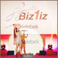 Kelebek Mobilya 80. Kuruluş Yıldönümünü Rixos Premium Belek'te kutladı!  *** Kelebek Furniture celebrate the 80th Anniversary at Rixos Premium Belek!