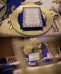 Place settings    san-diego-ethnic-indian-wedding-planner-tablesetting-charger-plate-menu-travel-place-card