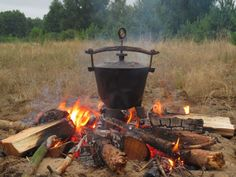 Dutch Oven, Grilling, Bbq, Food And Drink, Outdoor Decor, Impreza, Kitchen, Food And Drinks, Iron Pan