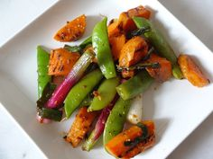 Grilled Sweet Potato and Snap Pea Salad | 39 Salads To Make On The Grill