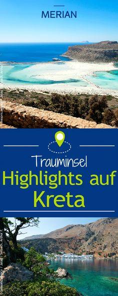 Kultur, Sehenswürdigkeiten und Traumstrände: Kreta hält viele Highlights für euch bereit. Startet jetzt mit uns die Urlaubsplanung!