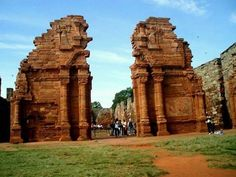 R-Ruinas de San Ignacio,Misiones,Argentina.