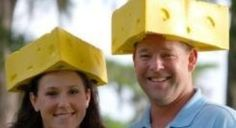 Cheeseheads - yay Wisconsin!