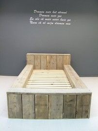 1000 images about kinderkamer on pinterest van beds and scaffolding wood - Bed kamer ...