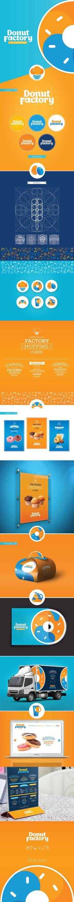 Branding Donut Factory on Behance