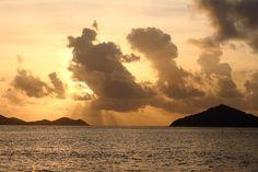 Sunrise in St. Thomas Sapphire Beach