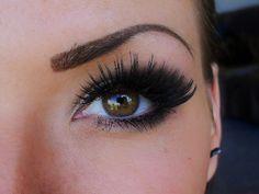 eye lashes!