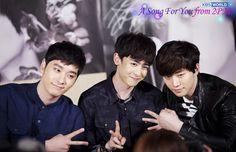 2PM Chansung Nichkhun Junho