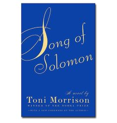 Song of solomon by toni morrison essays