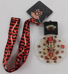 Disney Parks Halloween Mickey Mouse Light Up Necklace 2017 New #Disney