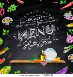 Resultado de imagem para Chalk Drawn bulk food