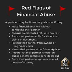 National Network to End Domestic Violence | What Is Financial Abuse & How Can We Help Victims?