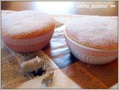 「 ホワイトチョコレート スフレ☆」。。。ahiru | お菓子・パンのレシピや作り方【corecle*コレクル】