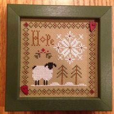 LHN sheep - Hope